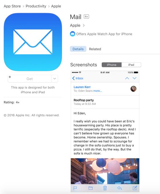 visual apps en appstore