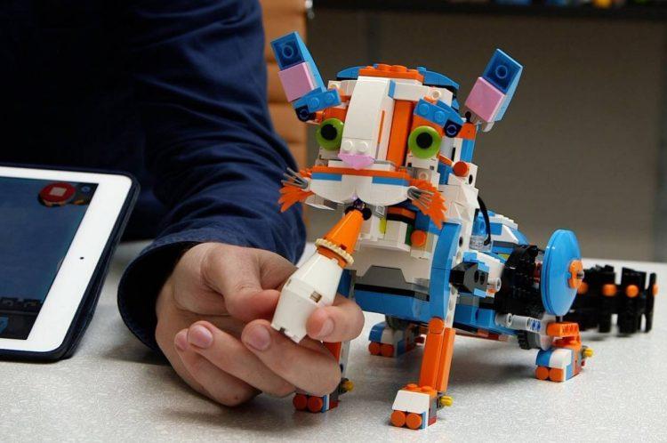 iniciativas de programación para niños lego boost