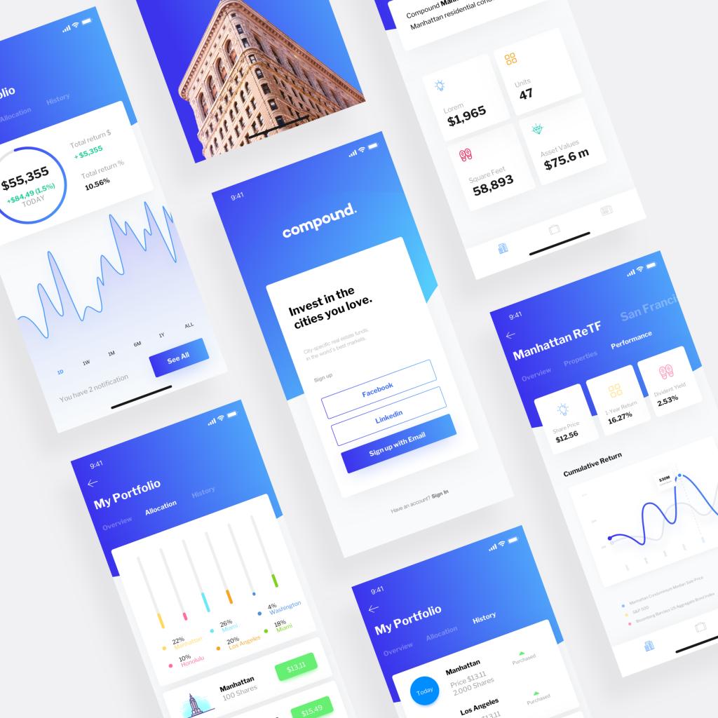 tendencias de UI blog visual engineering
