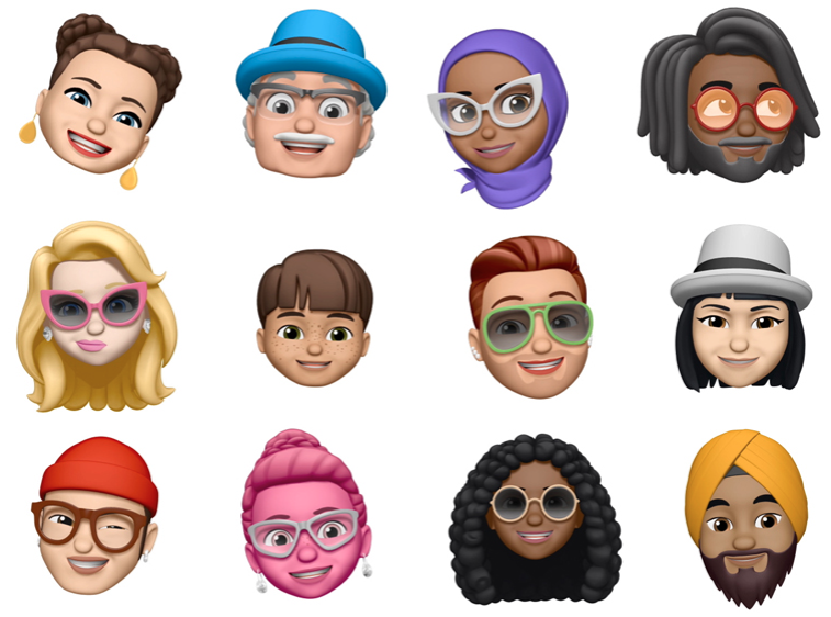 ios 12 memojis visual engineering